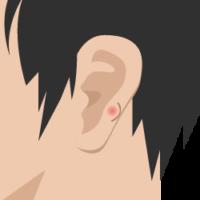 の 付け根 しこり 耳たぶ